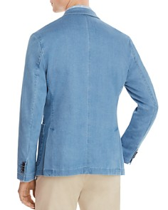 Michael Kors - Washed Chambray Classic Fit Blazer - 100% Exclusive