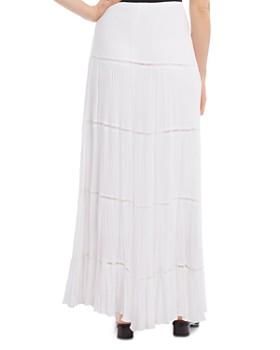 Karen Kane - Lace-Trim Maxi Skirt