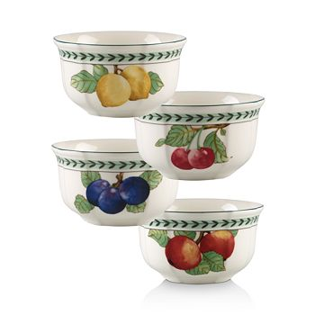 Villeroy & Boch - French Garden Modern Fruit Small Bowls, Set of 4