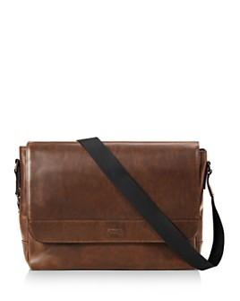 Shinola - Navigator Leather Slim Messenger Bag
