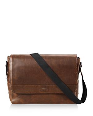 Shinola Navigator Leather Slim Messenger Bag-Men