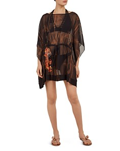 Ted Baker - Cemiaa Caramel Caftan Swim Cover-Up