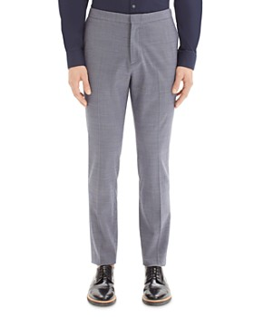 Theory - Payton Micro-Houndstooth Slim Fit Pants