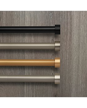 Elrene Home Fashions - Serena Adjustable Curtain Rods with Cap Finials
