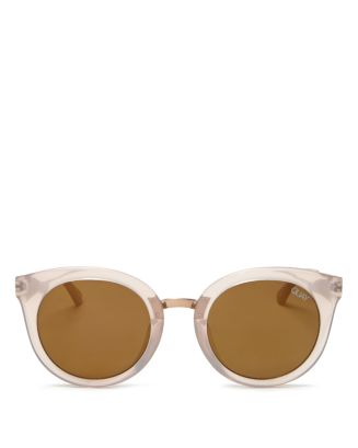 Women's  X Benefit Shook Round Sunglasses, 50mm by Quay