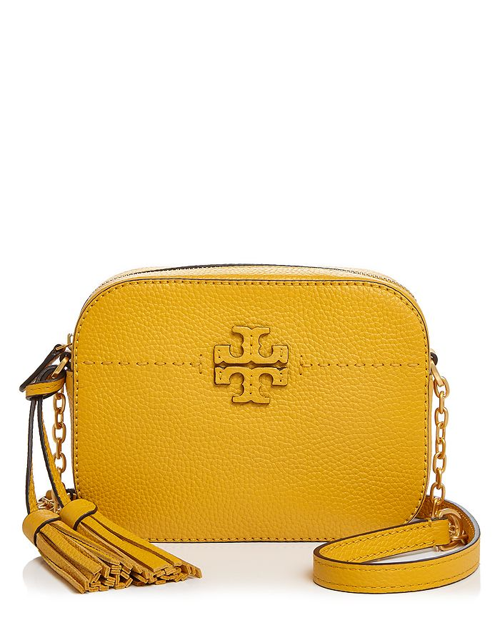 ce9314bbc6 Tory Burch McGraw Leather Camera Crossbody | Bloomingdale's