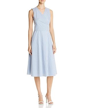 Kobi Halperin Dina Striped Midi Dress