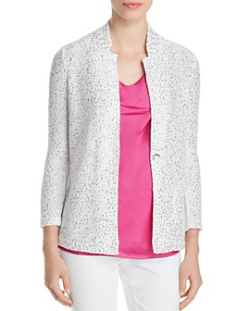 NIC and ZOE - Sequined Knit Blazer