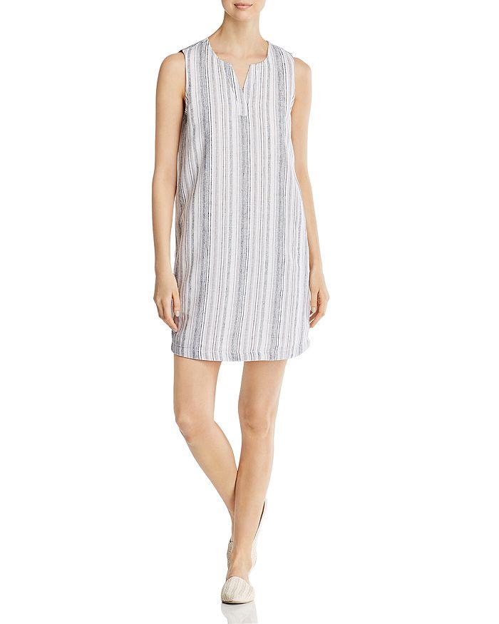 BeachLunchLounge - Sleeveless Striped Shift Dress