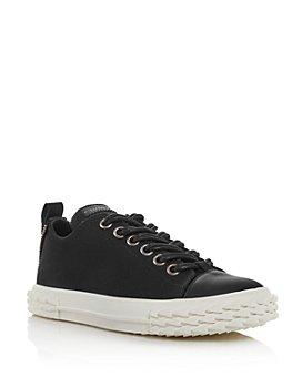 Giuseppe Zanotti - Women's Blabber Canvas Low-Top Sneakers