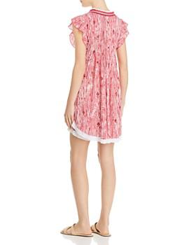 Poupette St. Barth - Sasha Fringe-Trim Mini Dress
