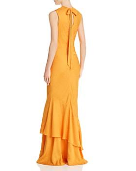 Rebecca Vallance - Isobella Tonal-Leopard-Print Dress