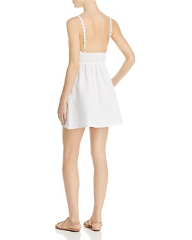 For Love & Lemons - Macaroon Button-Front Mini Dress
