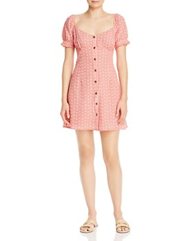 leRumi - Marianna Button-Down Gingham Mini Dress