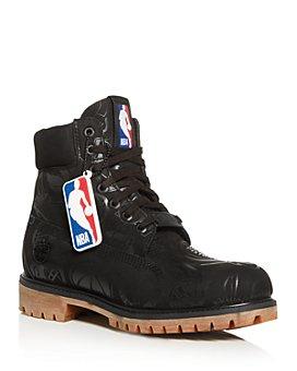 Timberland - Men's East Vs. West Logo Waterproof Nubuck Leather Boots