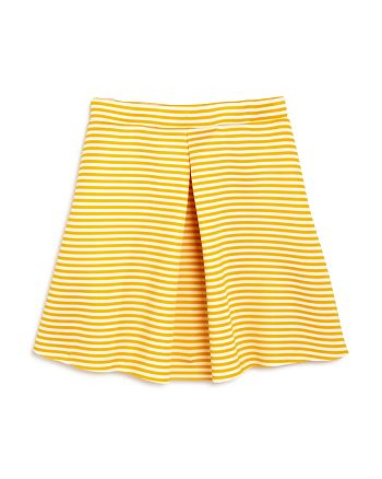 AQUA - Girls' Striped A-line Skirt, Big Kid - 100% Exclusive