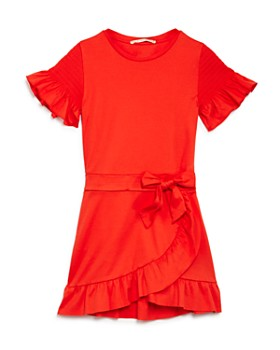 Scotch R'Belle - Girls' Ruffle-Trim Dress - Little Kid, Big Kid