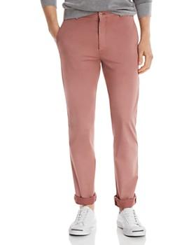Zanella - Noah Garment-Dyed Stretch-Cotton Slim Fit Dress Pants