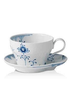 Royal Copenhagen - Elements Teacup & Saucer