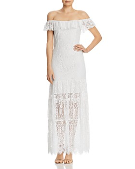 WAYF - Odette Lace Maxi Dress
