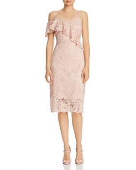 Sam Edelman - Lace Cold-Shoulder Dress
