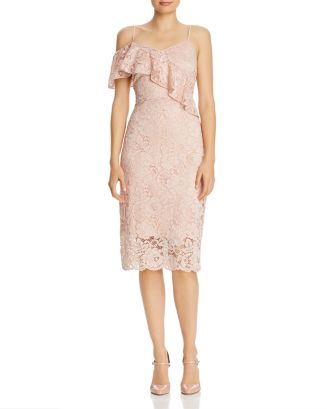 Lace Cold Shoulder Dress by Sam Edelman