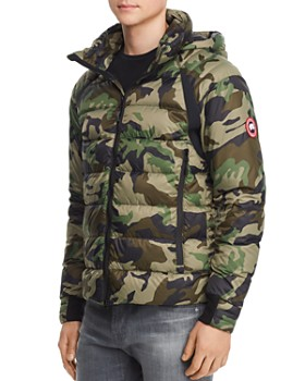 Canada Goose - Hybridge Base Camouflage-Print Down Jacket