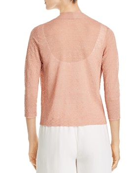 Eileen Fisher - Cropped Open Cardigan