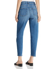 Eileen Fisher - Tapered Ankle Jeans in Solar Blue