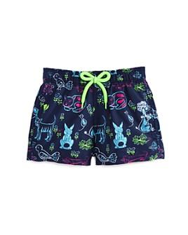 Vilebrequin - Boys' Jim Florence Animal-Print Swim Trunks - Little Kid, Big Kid