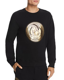 Versace Jeans Couture - Coin-Logo Graphic Sweatshirt