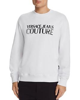 Versace Jeans Couture - Patent Logo Appliqué Sweatshirt