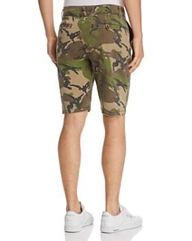 Hudson - Camouflage-Print Slim Fit Chino Shorts