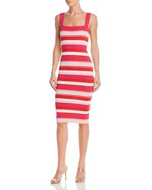 BARDOT | Bardot Striped Body-Con Midi Dress | Goxip