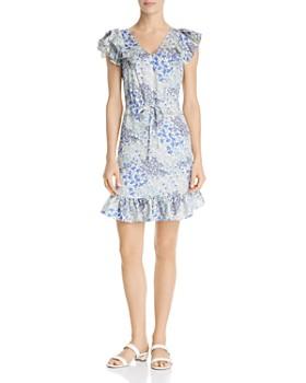 Rebecca Taylor - Ava Ruffled Floral-Silk Dress