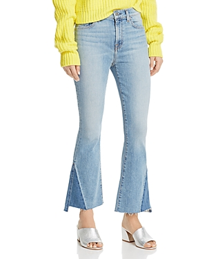 7 For All Mankind Jeans HIGH-RISE KICK FLARE JEANS IN VINTAGE MERCER