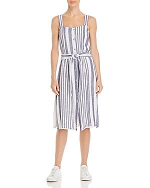 Rails Dresses Clement Striped Button-Front Dress