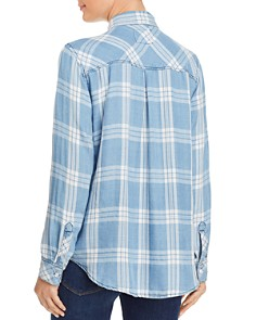 Rails - Hunter Plaid Chambray Shirt