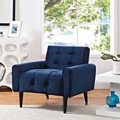 Modway - Delve Velvet Armchair
