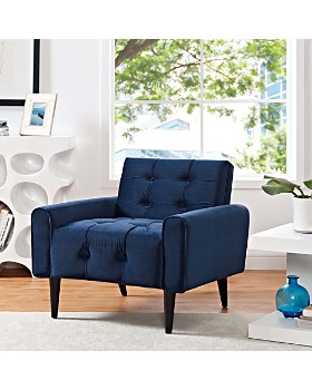 Modern Recliners, Armchairs & Living Room Chairs - Bloomingdale\'s