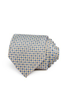 The Men's Store at Bloomingdale's - Micro Circle Floret Classic Tie - 100% Exclusive