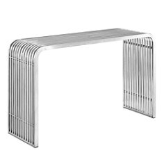 Modway - Pipe Stainless Steel Console Table