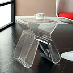 Modway - Magazine Acrylic Side Table