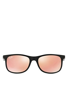Ray-Ban - Unisex Rectangular Mirrored Sunglasses, 48mm - Big Kid