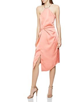 REISS - Paola Satin Cocktail Dress