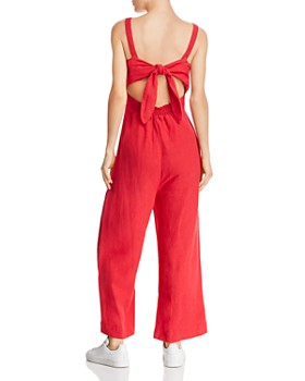 Rails - Teresa Button-Front Wide-Leg Jumpsuit