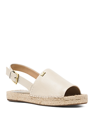 Michael Michael Kors Women's Fisher Leather Espadrille Sandals