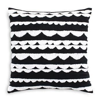 "kate spade new york - Scallop Row Decorative Pillow, 18"" x 18"""
