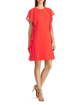 Ralph Lauren - Ruffled Georgette Dress