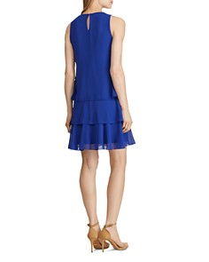 Ralph Lauren - Tiered Georgette Dress